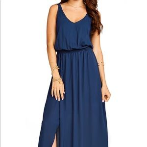 Show Me Your MuMu Navy Kendall Gown